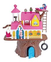 Casa De Boneca Casa Na Árvore Casinha Com Bonequinhos 3901 Homeplay - Xplast