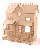 Casa de Bonecas Escala Barbie Modelo Lian Natural - Darama -