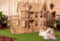 Casa de Bonecas Escala Barbie Modelo Stefannie Natural - Darama -