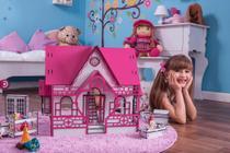 Casa de Bonecas Escala Polly Modelo Megan Sonhos - Darama -