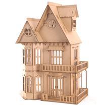 Casa de Bonecas Escala Polly Modelo Mirian Natural - Darama -