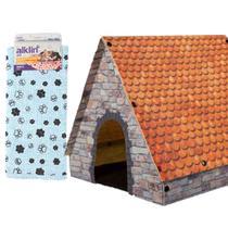 Casa Desmontável Pet e Manta Cobertor para Cães e Gatos - Alklin