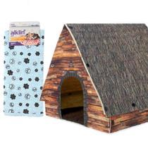 Casa Desmontável Pet e Manta Premium para Cães e Gatos - Alklin