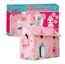 Casa divertida doll 2390 - Brincadeira De Criança -