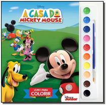 Casa do mickey mouse, a - livro para colorir - Dcl