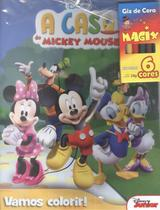 Casa do mickey mouse - vamos colorir! - Difusao Cultural Do Livro