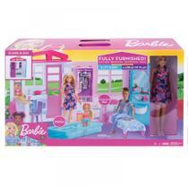 Casa Glamour Da Barbie Com Boneca Mattel FXG55 -