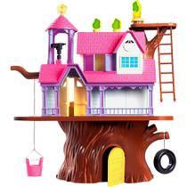 Casa na Arvore Homeplay Casinha Infantil com Bonecas Xplast Home Play 3901 -