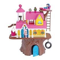 Casa Na Árvore Xplast 2 Bonecas e Acessórios 3901 -