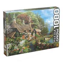 Casa no Lago Quebra-Cabeça 1000 Peças Grow 02963 -
