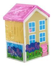 Casa Surpresa da Peppa Pig - Figura Surpresa - Telhado Rosa SUNNY BRINQUEDOS - Hot Wheels