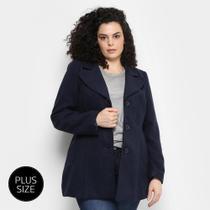 Casaco Facinelli Plus Size Feminino -
