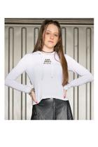 Casaco Moletom Juvenil Feminino Classy Womans Abrange -