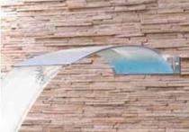 Cascata  angel em aço inox 304 de parede - sodramar -