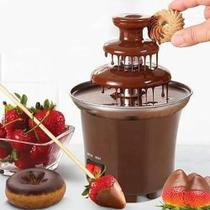 Cascata de Chocolata Fonte de Chocolate Fondue Elétrica Festas Eventos Profissional -