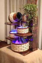 Cascata e Fonte com bomba e LED - 15 - Cascatas E Fontes Luiz