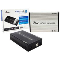 Case 3.5 HD Sata USB 2.0 Para Computador e Notebook KP-HD002 KP-HD002 KNUP -
