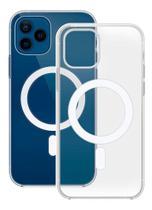 Case Capa MagSafe Transparente Compatível iPhone 12 Mini - Baú do Viking