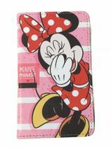 Case Capa P/ Tablet 7 Polegadas Minnie Mouse M7 3G  M7s Plus Suporte - Fam