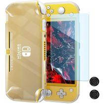 Case Capa Silicone Nintendo Switch Lite + Pelicula + Grip - Oivo/T&Z