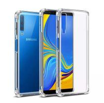 Case Capinha Air Cushion Novo Galaxy A7 2018 A750 6.0 + Pelicula de Vidro - Oem