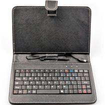 Case com Teclado Para Tablet 7 polegadas - Marca Bright ref.0399 -