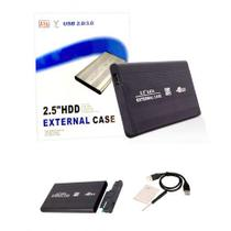Case Hd Externo Usb Sata 2.5 Hdd Notebook Gaveta Alumínio Slim De Bolso -