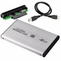 Case Para HD Externo De 2,5''  Sata Para USB 2.0 - Lx Shop