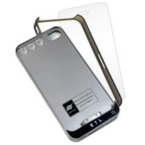 Case Power Bank Iphone 4 1500mAh + capa bumper + pelicula CBRN04492 - Commerce brasil
