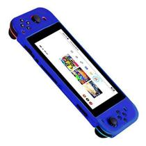 Case Protetora De Silicone Flexível do Nintendo Switch Azul - 7&7