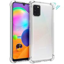 Case Silicone Reforçada nas Bordas Samsung Galaxy A31 - Coronitas Acessorios