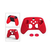 Case Silicone Xbox Series X/S + 2 Grips analógico Dobe -