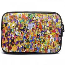 Case Sleeve Luva Macbook Notebook Chromebook 13.3  The Simpsons  Familia Springfield - Iwill