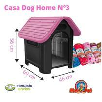 Casinha Cachorro Plástica N3 Mec Pet + Manta -