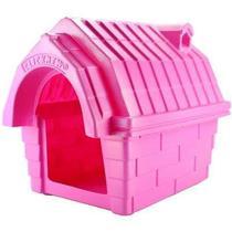 Casinha com chaminé rosa - n4 - Click New