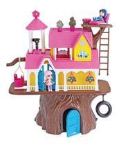 Casinha De Boneca Casa Na Arvore Com Bonequinhos Xplast 3901 - Homeplay