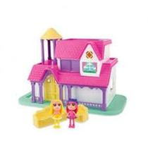Casinha De Boneca Xplast 3904 Casinha Divertida Beauty Girls - Cotiplas