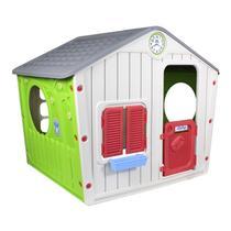Casinha De Brinquedo Infantil Cinza Starplay -