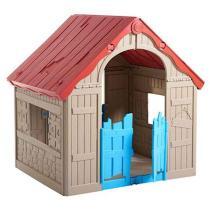 Casinha de Brinquedo Infantil Dobravel Foldable Playhouse Keter - Keter móveis