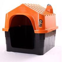 Casinha de Cachorro DuraHouse Grande Laranja N3 - DuraPets Laranja -