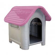 Casinha de Cachorro Grande Mec Pet Rosa -