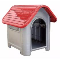 Casinha de Cachorro Grande Mec Pet Vermelha -