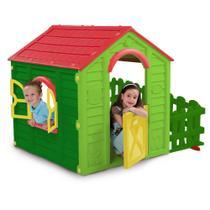 Casinha Infantil Com Cercadinho My Garden Keter -