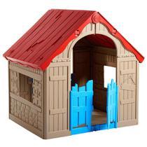 Casinha Infantil de Brinquedo Dobrável - Keter -