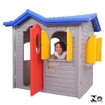 Casinha Infantil Tropical Cinza 0945.5 Xalingo -