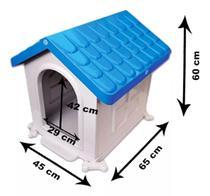 Casinha plastico caminha casa abrigo cachorro cão dog pet tamanho número 3 desmontável pet injet -