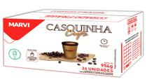 CASQUINHA CUP 130ml CAFES MARVI CX 36 COPOS - Marvi professional
