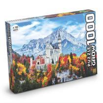 Castelo De Neuschwanstein 1000 Peças Quebra Cabeça Puzzle - Grow 03734 -
