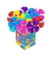 Catavento Turbo Hélice Candy Toy Com Super Hélice De 13,5 Cm -