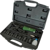 Catraca pneumática encaixe de 1/2 45ftlb (61n/m) maleta c/ 17 pcs - Potente